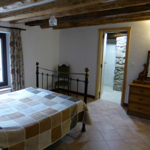 Double room with ensuite at our Bed and Breakfast Spanish Pyrenees