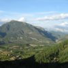 Aerial view of the hamlet of Albella and our Bed and Breakfast Spanish Pyrenees