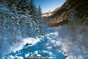 Winter scene in the Ordesa National Park on Nature Photography Holidays Spain
