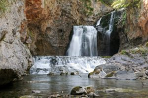 Waterfalls in Ordesa National Park on Learn Spanish Holidays
