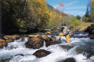 Fly fishing on Tailor Made Activity Holidays Spain