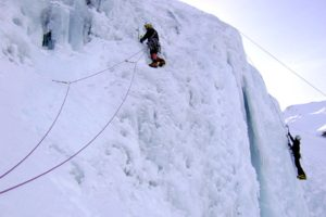 Ice climbing in Ordesa National Park on Tailor Made Activity Holidays Spain