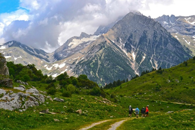 Walking in Otal on Guided Walking Holidays Pyrenees