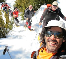 Our guide Alberto on About Us - Winter Walking Holiday Pyrenees