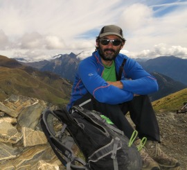 Our walking guide Alberto on About Us - Spanish Pyrenees Holidays