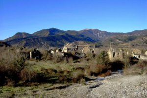 Ruins of Janovas on Trail Running Holiday Pyrenees