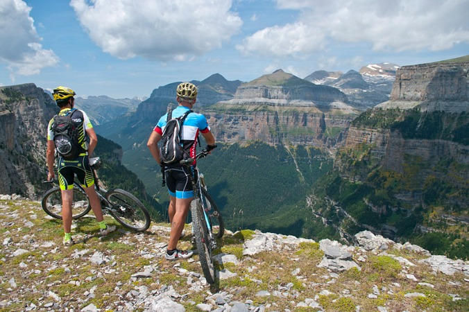 Mountain biking in the Pyrenees on Activity Holidays Spain