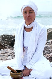 Tej Partap Kaur our qualified teacher of Kundalini Yoga on About Us - Aragon Active- Spanish Pyrenees Holidays
