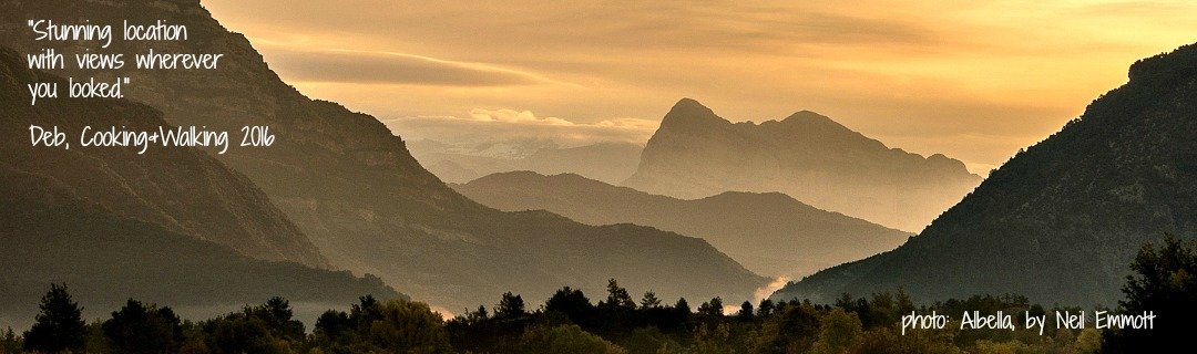 Photo taken in Albella of the mountains on Home Aragon Active Spanish Pyrenees Holidays