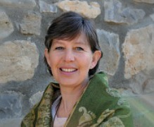 Photo of Julia our meditation facilitator on Yoga Meditation Retreat Spain