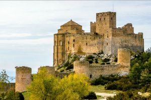 The castle of Loarre on Aragon Active Tailor Made Activity Holiday Spain