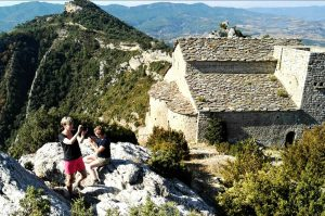 One of the oldest chapels in Sobrabre on Aragon Active Guided walking Holiday Spain
