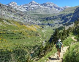 Walking in the Ordesa Valley on Aragon Active Guided walking Holiday Spain
