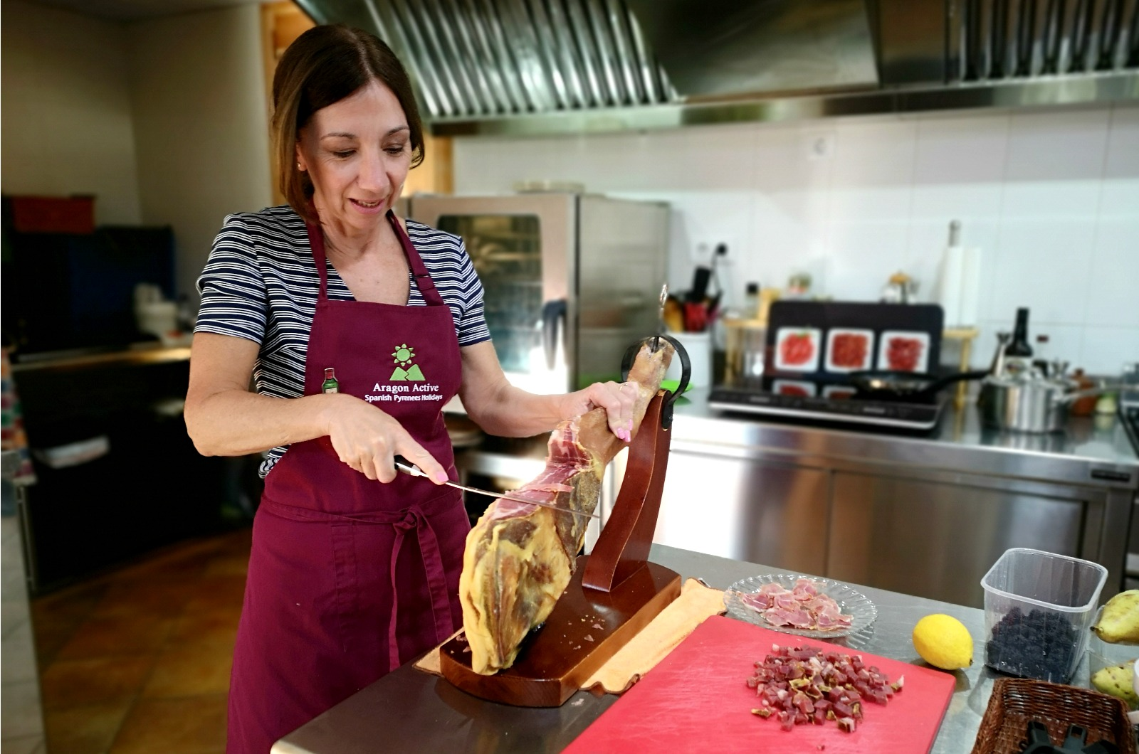 Cooking Jamon lesson