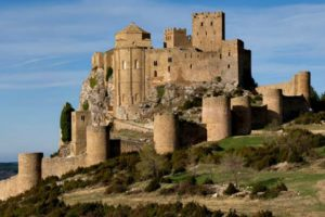 The Castle of Loarre on learn spanish holidays