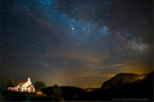 The milkyway over Albella by Karin Wilson on Nature Photography Holidays Pyrenees