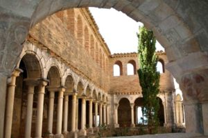 Cloisters in Alquezar Cathedral on Tailor Made Activity Holidays Spain