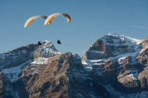 Parapenting in the mountains on Tailor Made Activity Holidays Spain