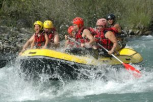 White water rafting on the river ara on Tailor Made Holidays Spain