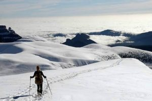 Snow shoes walking Ordesa National Park on Tailor Made Activity Holidays Spain