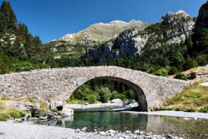 Photo of the San Nicolás bridge on Trail Running Holiday Pyrenees