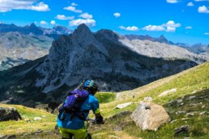 A day off MTB on Trail Running Holiday Pyrenees