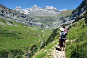 The Ordesa Valley on Trail Running Holiday Pyrenees