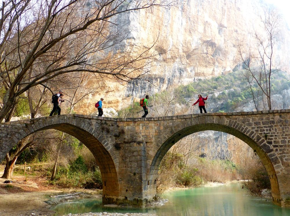 Walking in Sierra de Guara on Aragon Active Guided walking Holiday Spain