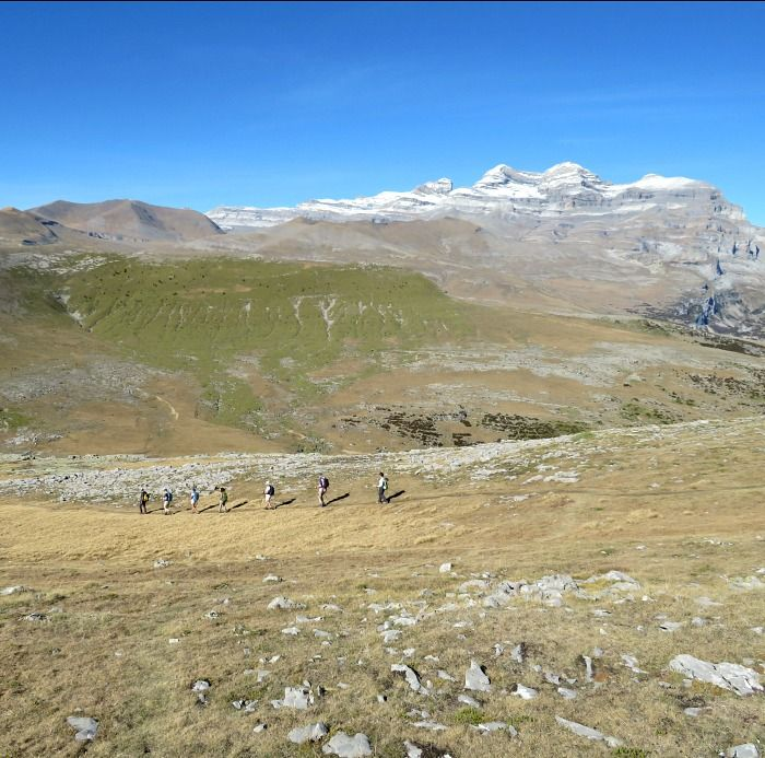 Walking in the Pyrenees on Aragon Active Guided walking Holiday Spain