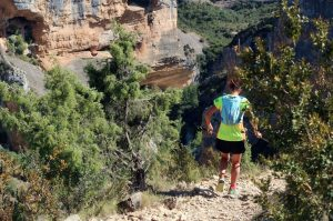 Running in a gorge