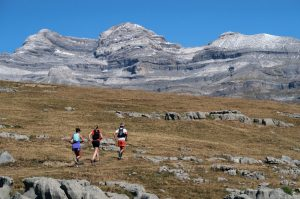 A high trail run on Aragon Active Trail Running Holiday