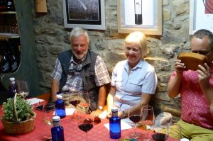 Sampling the local Somontano wines and improving Spanish Conversation on the Aragon Active Learn Spanish Holiday