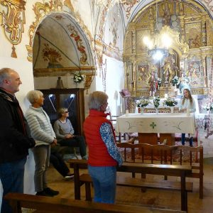 A guided visit to the chapel of San Urbez in the Pyrennes with Aragon Active as part of their Responsible Travel programme